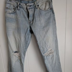 Levis jeans washed out wedgie 28x27